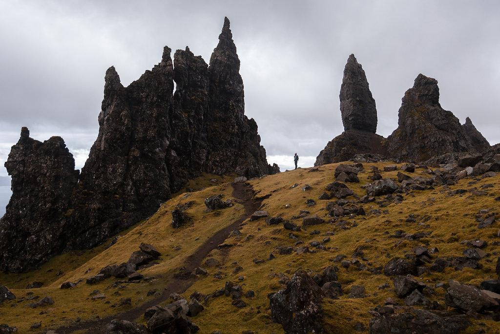 Scotland, Old Man of Storr, 2013